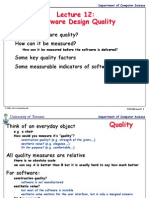 Lect12 - Software Quality