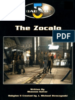 Babylon 5 RPG (1st Ed)-The Zocalo