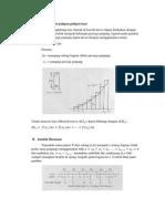 Luas kurva dengan Poligon luar dan Riemann