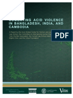 Combating Acid Violence Report