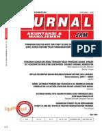 Jam Vol 20 No 3 Dec 2009 Estimasi Harga Opsi Saham Di Bursa Efek Indonesia -- Sdh