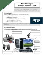Resume Informatique Nouveau