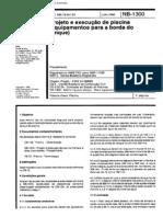 [Normas Técnicas] NBR 11239 - Projeto e Execução de Piscina