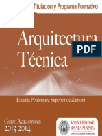 Grado Arquitectura Tecnica EPS Zamora 2013