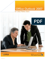 Notes Quick Reference - Outlook 2007