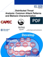 Enabling Distributed Threat Analysis