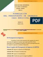 Presupuesto de Ingresos (1)