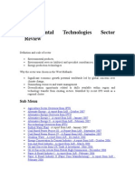 Environmental Technologies Sector Review of Pakistan.doc