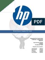 Organizational Behavior Report on HP