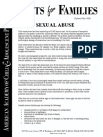 Child Sexual Abusefacts for Families