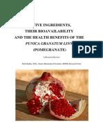 Active Ingredients Pomegranate