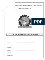 Catia Lab Manual
