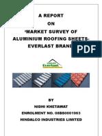 suvey of aluminium roofing sheets-everlast brand