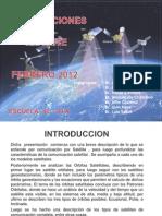 Comunicaciones Por Satelite Diapositiva