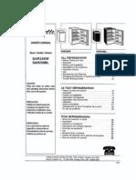 Dar259BL Danby Refrigerator Manual