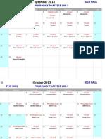 PHS3602 Calendar ST