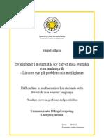 Examensarbete Mirja Hallgren