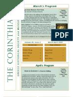 The Corinthian April 2009