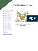 Plan Digitalizado de Matematicas Cenit