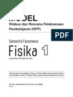 RPP Fenomena Fisika SMP 1