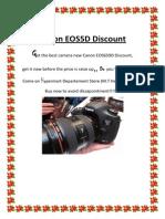 Canon EOS650D Discount.docx