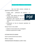 Actividad de Metodologia Para Trabajos de Investigacion
