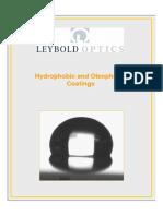 Hydrophobic Oleophobic