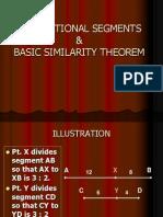 Proportional Segments