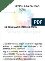 Lic Rosa Maria Camacho Moya Calidad Total