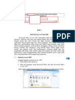Modul Microsoft Office Access 2007