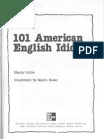101 American English Idioms - Book