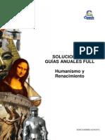 SOLUCIONARIO HU 13 Humanismo y Renacimiento