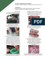 Conservación y manipulación de los alimentos