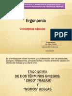 1. Introduccion Ergonomía