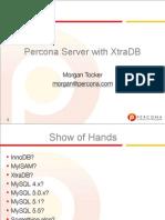 Percona 服务器与 XtraDB 存储引擎