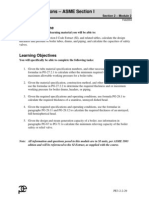 Code Calculation-ASME Section I