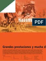 8282650 Shimano Catalog Spanish Spa 2008 Consumer MTB