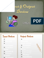 input & output devices
