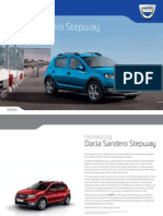 Dacia Sandero Stepway Brochure 2013 Uk