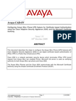 Configuring Avaya 9600 Series Phones With Cisco ASA