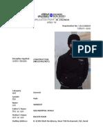 Eil Application Form