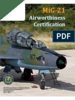 Appendix 14-MiG-21 Airworthiness Certification