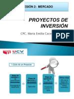 Sesion 2 - Mercado - Proyectos de Inversion
