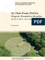 DFP 2013 Perspektive Filozofije - Drugi Poziv