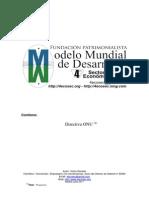 Modelo Mundial Desarrollo Sostenible- 4o - OnU