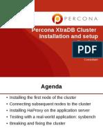 Percona XtraDB 集群安装与配置