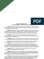 CA Gov Emergency Declaration 1 Full Year