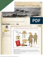 Láminas-Marines EE.UU. en la II Guerra Mundial (1939-1945)