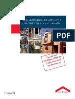 Construction de maison à ossature de bois