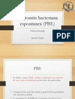 Peritonitis Bacteriana Espontanea